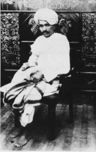 Mohandas Gandhi, a young aristocrat who sought Indian autonomy within the British Empire